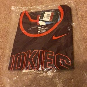 Large Nike Virginia tech Hokies tank top.NWT